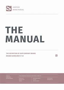 Brand Manual 44pages By Egotype