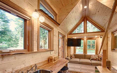 Stunning Tiny Cottage Homes by Amazing Tiny House Vacation With Sauna