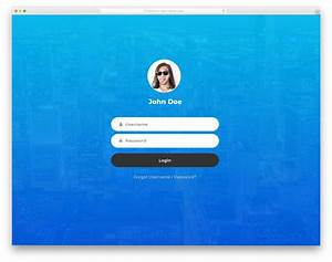 Login Page Template In Asp Net Free Download 35 Best Free Bootstrap Login Forms For Membership Sites 2020