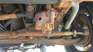 2003 Dodge Ram Van 1500 Rusted From Frame To Steering