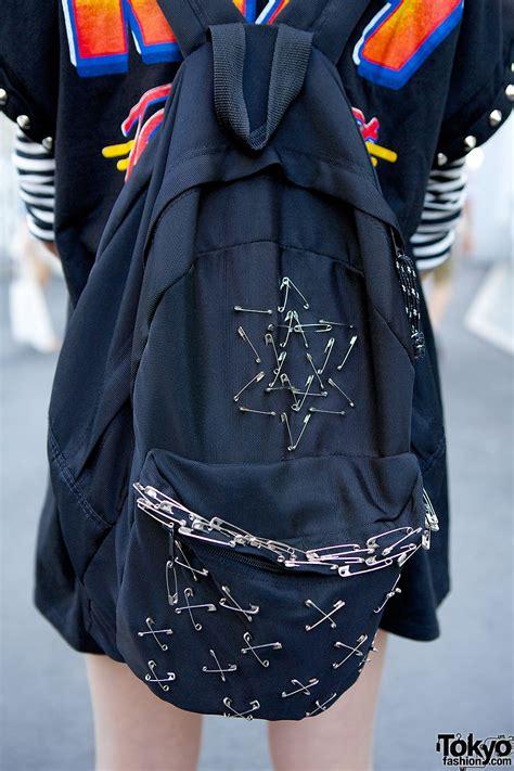 safety pins backpack tokyo fashion news
