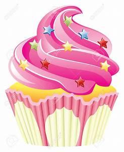 Cute Cupcake Clip Art | pink cupcake , pink cupcake with ...