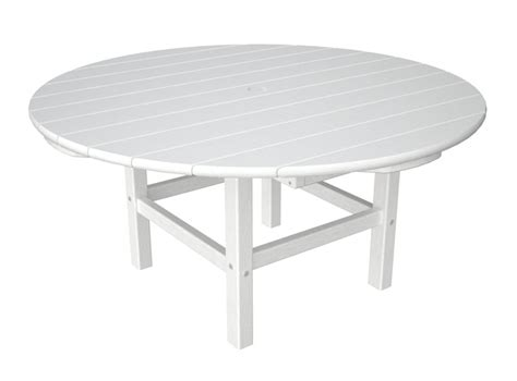 plastic 38 in outdoor conversation table w