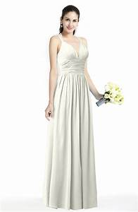 cream simple spaghetti sleeveless chiffon sash plus size With cream wedding dresses plus size