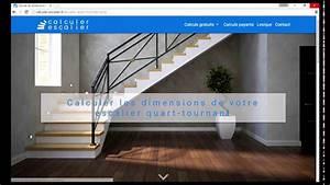 Calcul Escalier Quart Tournant : calculer un escalier quart tournant exemple n 1 youtube ~ Dailycaller-alerts.com Idées de Décoration