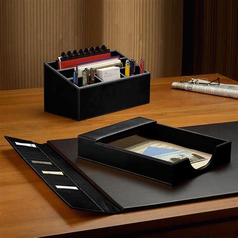 desk sets for him morgan desk set three pieces leather desk set desk