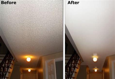 popcorn ceiling removal drywall installation repair