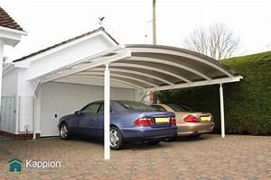 Carport Maße Für 2 Autos : double carport the ultimate two car canopy kappion ~ Michelbontemps.com Haus und Dekorationen