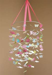 Mobile Baby Diy : the isabella butterfly mobile great for baby shower gifts ~ Buech-reservation.com Haus und Dekorationen