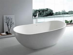 Bilder Freistehende Badewanne : freistehende badewanne treviso grande aus mineralguss wei matt oder gl nzend 180x85x64 ~ Sanjose-hotels-ca.com Haus und Dekorationen