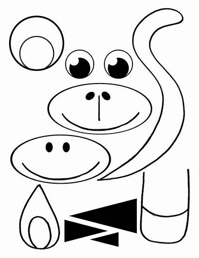 Monkey Bag Paper Craft Diy Preschoolers Crafts