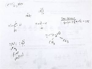 Lewis Structure on (CH3)2NO? - Chemistry Stack Exchange