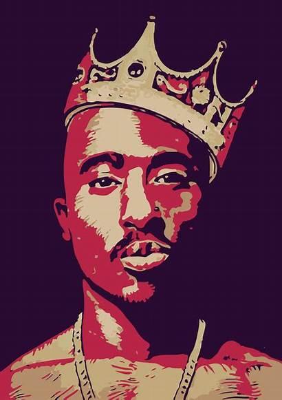 Tupac Shakur Rapper Fan Pac King Finger