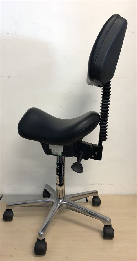 saddle chair seat bambach chairs office 2802