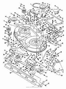Snapper Lt125h382kv  80381  38 U0026quot   Gf  12 5 Hp Hydro Drive Tractor Series 2 Parts Diagram For 38