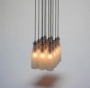 Lampen Aus Holz Selber Bauen : upcycling 15 ideen f r lampen aus flaschen ~ Lizthompson.info Haus und Dekorationen