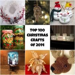 top 100 diy christmas crafts of 2014 homemade christmas ornaments diy christmas decorations