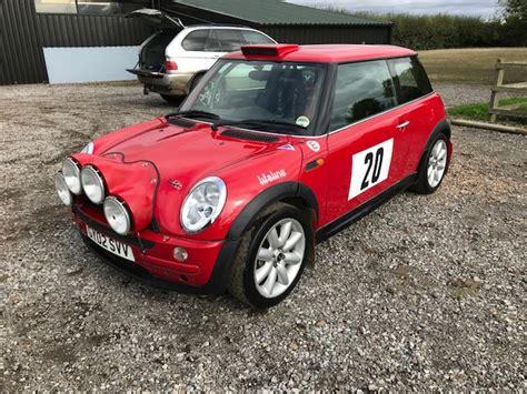 bmw mini john cooper works rally car jason lepley motorsport