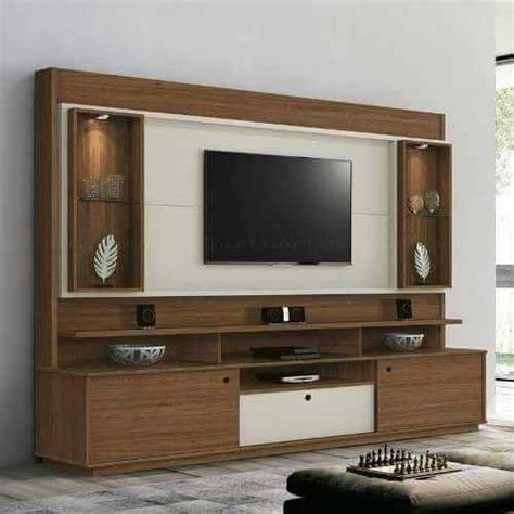 Large Wardrobe Wall Unit by Brown Modern Wooden Tv Wall Unit Rs 1200 Square