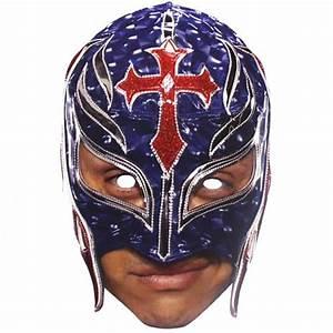 WWE Rey Mysterio Cardboard Face Mask | Partyrama