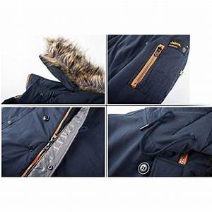 Tiger Force Parka Coat Winter Men Waterproof Hooded Jacket