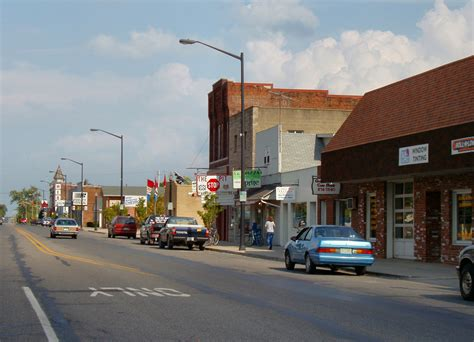 City Indiana by File Gas City Indiana Downtown Jpg Wikimedia Commons