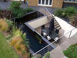 Bassin De Terrasse : bassin d 39 eau dans le jardin 85 id es pour s 39 inspirer ~ Premium-room.com Idées de Décoration