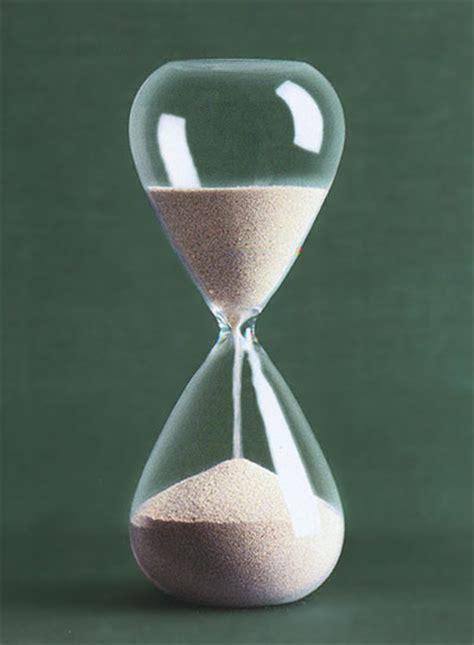 modern hourglass  silver plated sand novacom