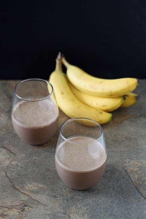 chocolate espresso chocolate espresso banana smoothie recipe runner