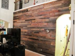 guys built  awesome diy wooden feature wall