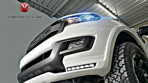 perfectly customized ford endeavour  motormind