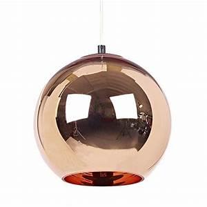Pendelleuchte Kugel Kupfer : pimp your wohnzimmer 6 lampen aus kupfer ~ Fotosdekora.club Haus und Dekorationen