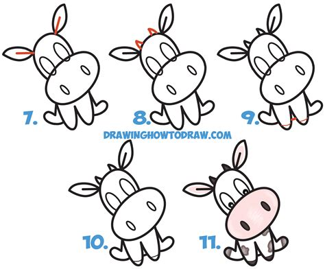 easy pictures to draw how to draw a cute cow www pixshark com images galleries with a bite