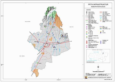 peta kota peta kabupaten kudus