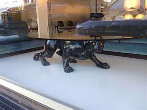 Black Panther Glass Coffee Table Find More Black Panther