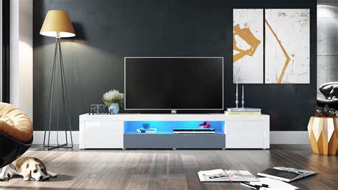 Tv Lowboard Board Fernsehtisch Schrank 200cm Kommode