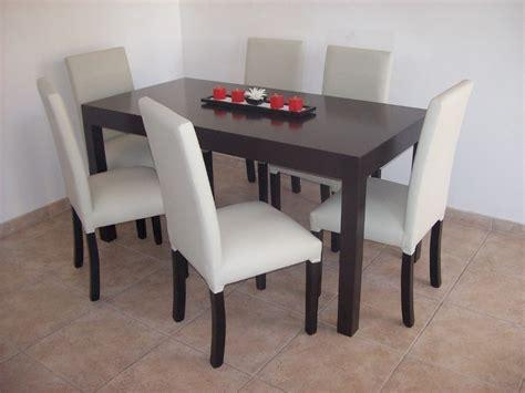 producto mesa  cm wengue negro   sillas vestidas