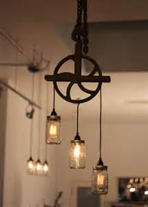 cool vintage industrial steunk light fixture