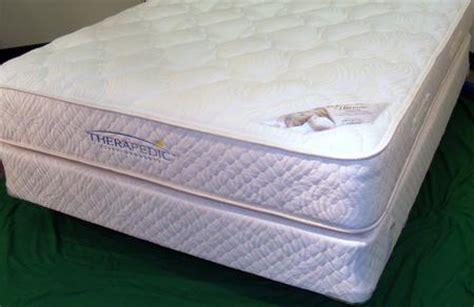 therapedic mattress reviews two sided therapedic medi coil permatuft firm mattress