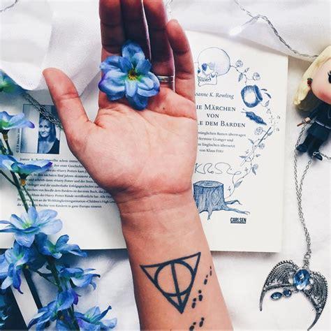 tatouage harry potter reliques de la mort  tatouages