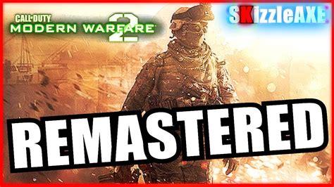 modern warfare  remastered rumored  release