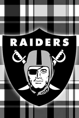 oakland raiders tartan iphonejpg phone wallpaper