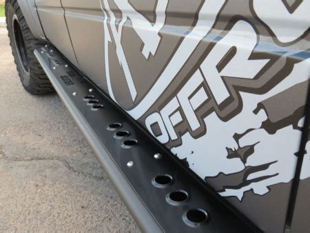 ford f 150 series rock slider side steps supercrew add offroad the leaders in aftermarket