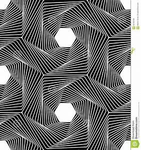 Vector Modern Seamless Geometry Pattern Line Art, Black ...