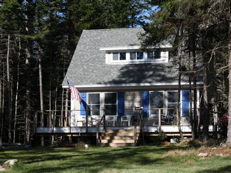 how to make an island for your kitchen new secluded deer isle cottage with island homeaway 9789