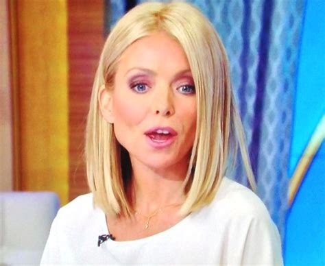 Kelly Ripa New Haircut Pictures