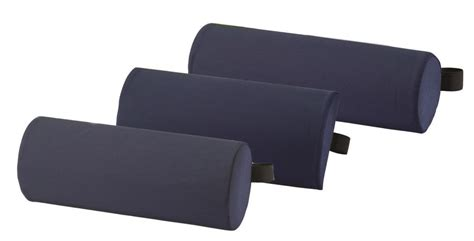 back support pillow for new comfortable foam lumbar roll back support cushion ebay