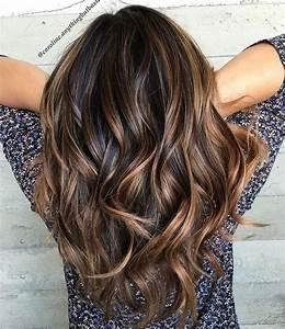 Brune Meche Caramel : balayage cheveux brun raide ~ Melissatoandfro.com Idées de Décoration