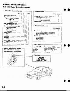 Honda Civic Service Manual 1996 - 2000