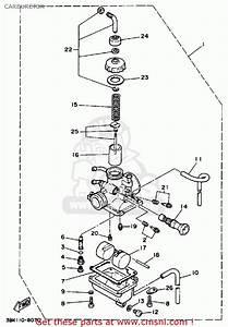 Yamaha Dt50 Dtl    C 1990  L  Usa Carburetor